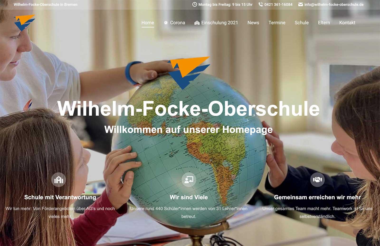 Wilhelm-Focke-Oberschule in Bremen