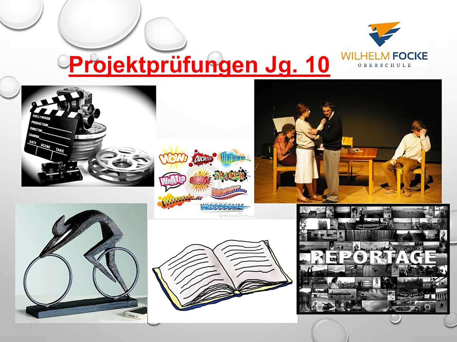 WFO: Projektprüfungen Jahrgang 10