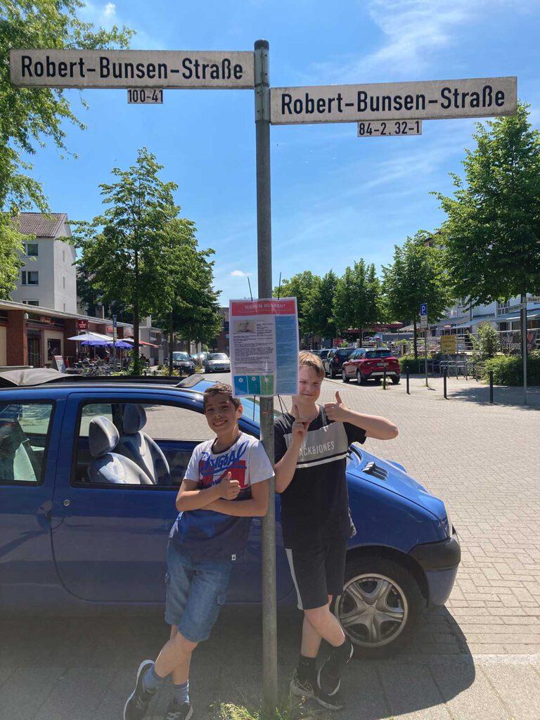 Warum wurden die Straßen unseres Schulviertels nach Forschern benannt?